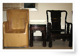 康潔搬家 不同傢俱的包裝圖片